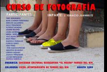 Curso de fotografía 2009