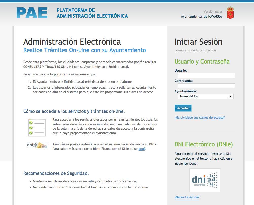 Plataforma Administrativa